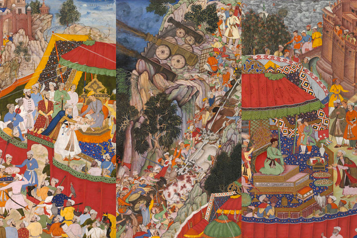 Mughal Painting and the Akbarnama: Miskina and Mukund